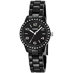 Calypso Damen-Armbanduhr Analog Quarz Plastik K5647/4