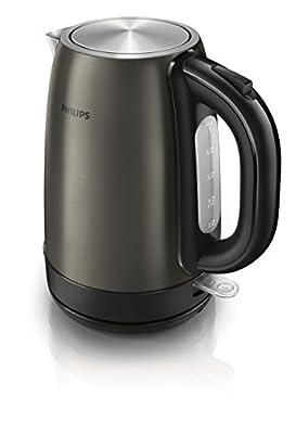 Philips HD9322/33 - Bouilloire 2200 W, 1,7l, indicateur de tasses, filtre anti-calcaire