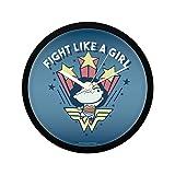 Mc Sid Razz Official DC Comics- Wonder Woman Fight Like A Girl Wall