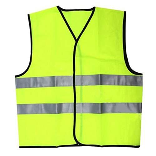 Haodasi Hohe Sichtbarkeit Warnweste - Reflektierende Weste mit Reflektorstreifen Sicherheitsweste für Outdoor-Aktivitäten in der Nacht (Mädchen, Lange In Der Rückseite Jacken)