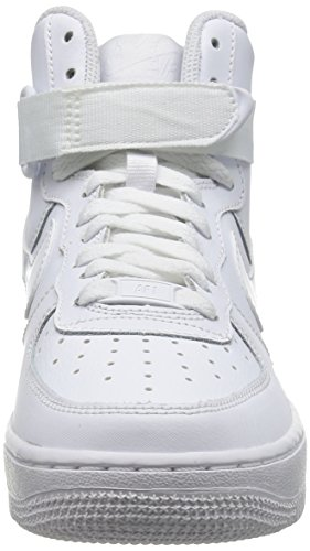 Nike air force 1 High GS Nero 653998 001 nuovo modello 2015 Bianco