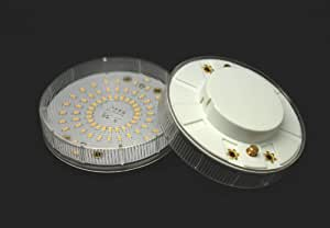APOLAMPE Lampe LED GX53 LED SMD Blanc chaud