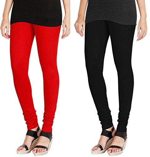 Kurtzy Ultra Soft Cotton Lycra Churidar Salwar Skin Tight Full Length Women...