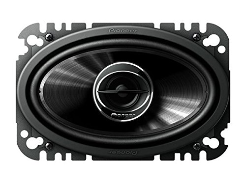 Für Auto 2014 Pioneer Dvd-player (Pioneer ts-g4645r Oval 2-Wege 200W Lautsprecher Audio Auto-Lautsprecher (2-Wege, 200W, 30W, 4Ohm, 86dB, Polypropylen))