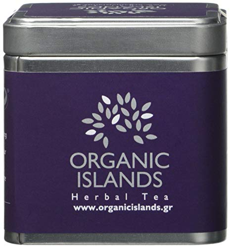 Organic Islands Nolstagia Greek Organic Herbal Tea Cube- Natural Remedy- Lavender-Thyme 28.35 g