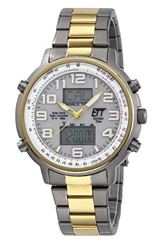 551522d405 Eco Tech Time Solar Drive Radio Hunter II Men's Watch EGS 11345 23 m Multi  Action