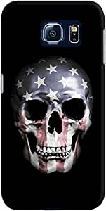 DailyObjects American Skull Case For Samsung Galaxy S6