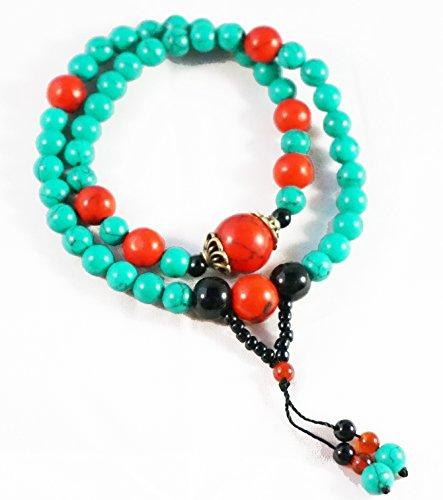 tibet-buddhist-turquoise-prayer-beads-bracelet-necklace-mala-35-cm