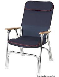 Osculati 48.352.91 - Sedia pieghevole Super-deck (Super-deck foldable padded chair)