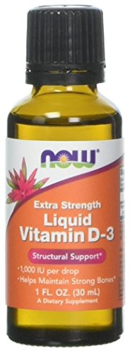 Now Foods, Extrastärke Liquid Vitamin-D-3, 1.000 IU (30 ml)