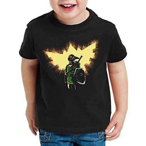 style3 Link T-Shirt für Kinder snes zelda ocarina, Größe:152