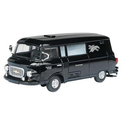 Preisvergleich Produktbild Schuco 450364600 - Barkas B1000 Bestattung, 1:43, schwarz