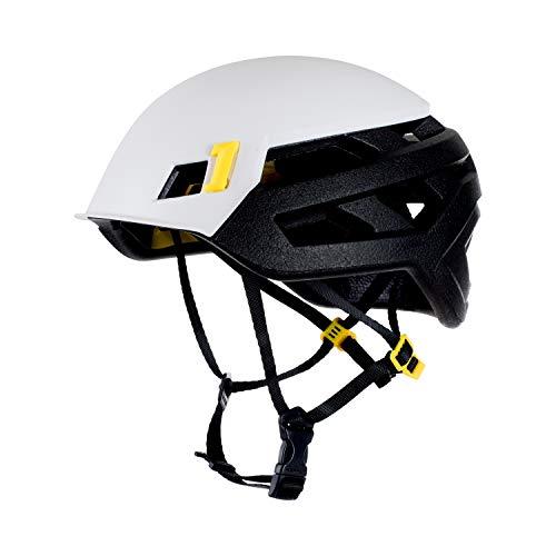 Mammut Helm Wall Rider MIPS White, Unisex Erwachsene, Unisex-Erwachsene, 2030-00250, Weiß (White), 52-57 cm