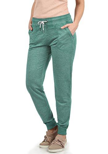 DESIRES Betty Damen Sweathose Sweatpants Relaxhose Mit Melierung Regular Fit, Größe:XS, Farbe:North ATL. (3324M)
