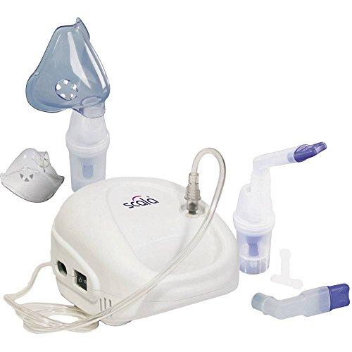 Scala SC 145 Inhalator mit Atemmaske, mit Mundstück, mit Nasenstück