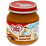 Cow & Gate Mini daube de bœuf 4-6mth + (125g) - Paquet de 2