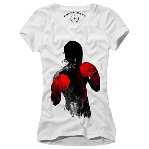 E1Syndicate Woman T-Shirt MMA Muay Thai Jiu Jitsu Karate Kung FU (Jitsu Muay Thai Jiu)