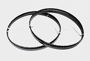 2 x Sägebänder Sägeband Bandsägeblatt 1490 x 8 x 0,65 mm 6 ZpZ Holz Basato