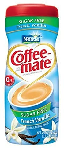 COFFEE-MATE FRENCH VANILLA SUGAR FREE CREAMER 289.1g AMERICAN IMPORTED