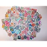 IHC Collection of Different Smalll and Large World Stamps (100 Pieces)