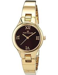 TOM TAILOR Watches Damen-Armbanduhr Analog Quarz Edelstahl beschichtet 5414403