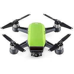 DJI Spark Fly More Combo - Dron cuadricóptero, full hd, 12 mpx, 50 km/h, 16 minutos, 6 accesorios - Color verde hierba