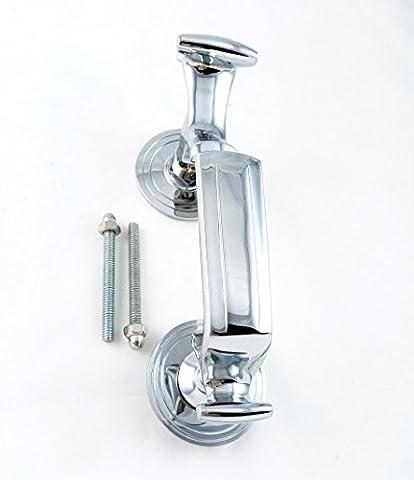 Doctor Door Knocker 200mm in Polish Chrome by EUROART