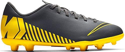 best sneakers 8f884 4680a Nike Unisex-Kinder Vapor 12 Club Gs MG Fußballschuhe, Grau (Dark Grey