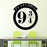 TYLPK Adesivo da parete con motivo a numeri per soggiorno Accessori camera da letto Decorazione Vinile Adesivi rimovibili da parete Adesivi impermeabili
