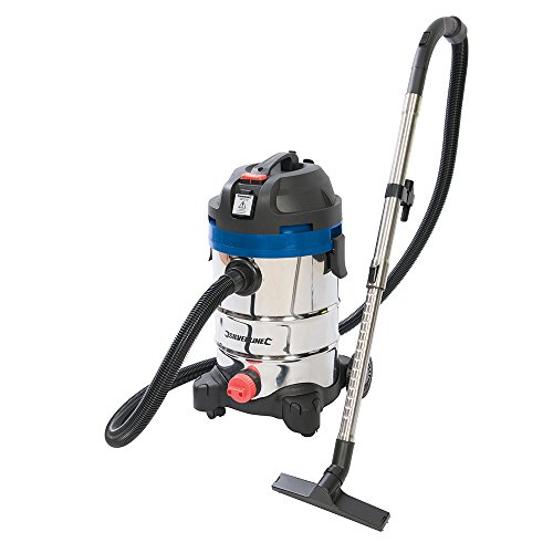 Silverstorm 974451 – 1250W 30Ltr Wet & Dry Vacuum Cleaner 230V