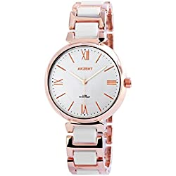 Neue Mode Akzent Watch Quarz Analog Damen Armbanduhr Premium Damenuhr