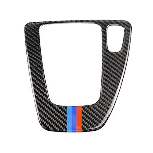 Morza Fibre de Carbone de Changement de Rapport Garniture Panneau de Commande Couverture Autocollant RHD Voiture Replacemnt pour BMW E90 E92