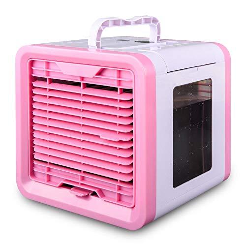 CARTEY Enfriador de aire personal Aire Acondicionador de espacio Mini ventilador USB...