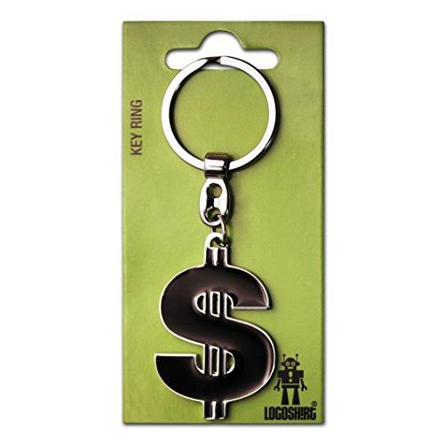 Schlüsselanhänger Dollar - Symbol Schlüsselanhänger Kult - Key-Ring - farbig - Lizenziertes Originaldesign - Logoshirt (Schlüsselanhänger Für Einen Dollar)