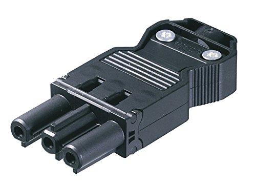 Preisvergleich Produktbild Wieland Zubehör / Ersatzteil, W-Buchse 230 V, männlich, Länge 70 mm, Breite 28 mm, Höhe 12 mm 800100