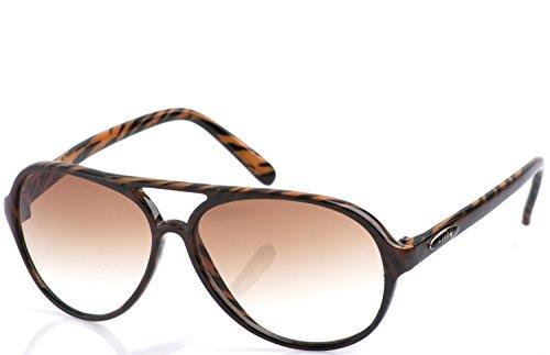FUNK Sonnenbrille Lust (Rahmen: Braun getigert | Gläser: Braun Verlauf leicht getönt)