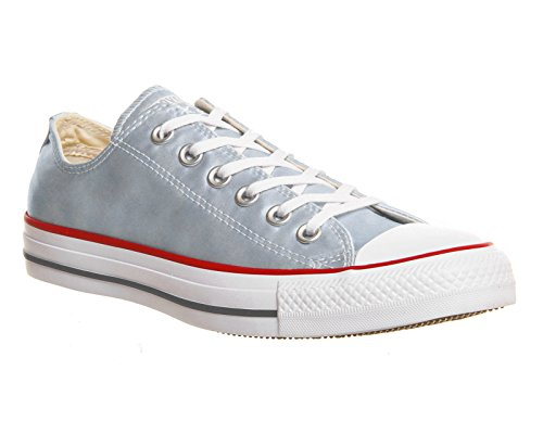 Converse All Star Ox Uomo Sneaker Grigio Polar Blue Sheenwash