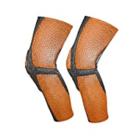 LUPINZ Orange Basketball Sports Knee-Cap Kneepads Protection for Knees