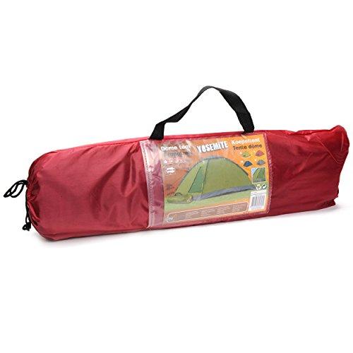 Kuppelzelt 2 Personen Kuppel Iglu Zelt Igluzelt Camping Tent 2 Personen + Zubehör Einsteiger