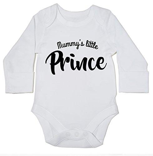 hippowarehouse-mummys-little-prince-baby-bodysuit-long-sleeve-boys-girls