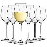 Kleine Weiß-Weingläser