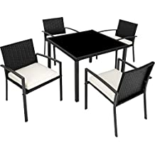 Amazon.fr : Table Jardin Resine Tressee
