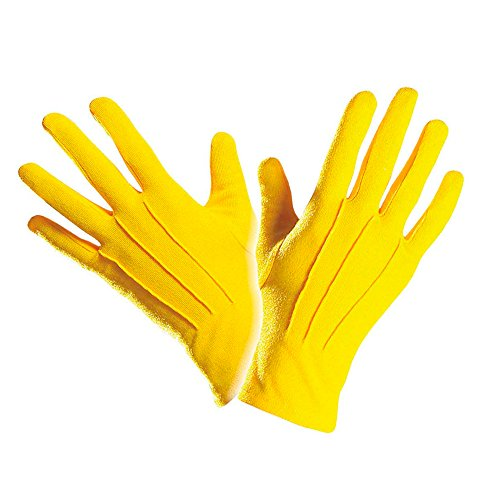 PARTY DISCOUNT Neu Handschuhe, Gelb, One Size