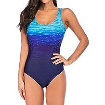 05fe5e6ef762 bañadores deportivos mujer - 3 estrellas y más - Amazon.es