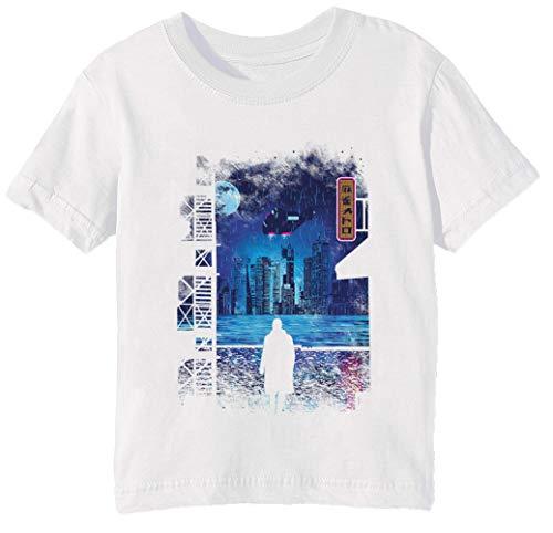 Stadtbild 1 T-shirt (2049 Unisex Jungen Mädchen T-Shirt Rundhals Weiß Kurzarm Größe 3XS Kids Boys Girls T-Shirt XXX-Small Size 3XS)