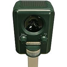 Selections UK - GFA805, Scaccia gatti a ultrasuoni a energia solare, con batterie (incluse) ricaricabili anche tramite USB