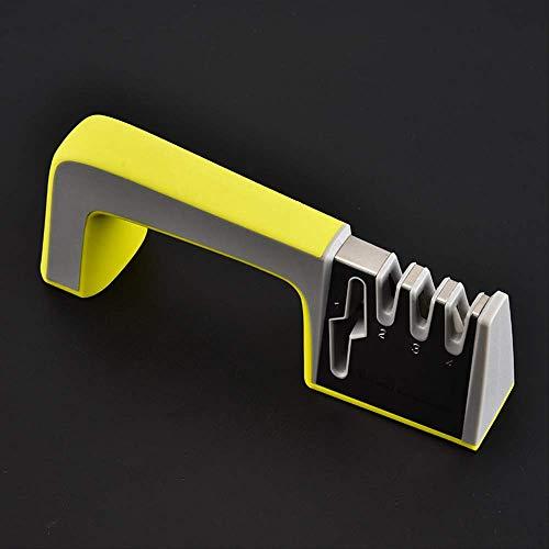 Messerschaerfer Messerschärfer Knife Sharpener Rutschfestem Unterseite Handheld Multifunktionales Haushaltsschleifmittel B Hand Held Knife Sharpener
