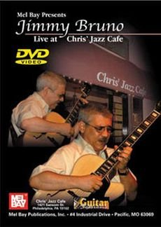 LIVE AT CHRIS JAZZ CAFE - arrangiert für mit DVD - Gitarre [Noten / Sheetmusic] Komponist: BRUNO JIMMY
