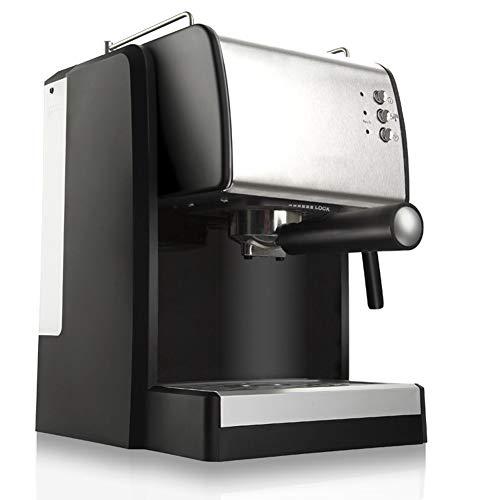 GxyWan Kaffeemaschinenpumpe Typ 1.5L Edelstahl Kleine Automatische Frische Gemahlenen Kaffee Milch...