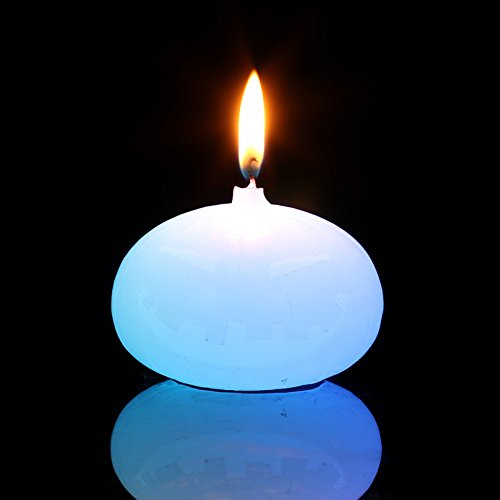 Mágico vela led / candela en parafina équipant de pila cambia color (iluminación LED) con una Vraie llama para decoración de fiesta/San Valentín/Navidad